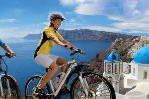 Santorini bike rentals