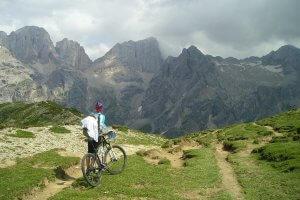 Dolomites bike rentals